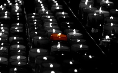 Kerzen im Dom zu Erfurt