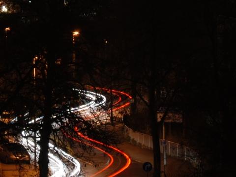Lichter huschen durch die Nacht ||Nikon D80|50mm|f/9|30s|ISO100||