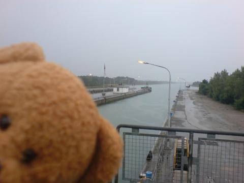 Schiffshebewerk Marckolsheim Rhein
