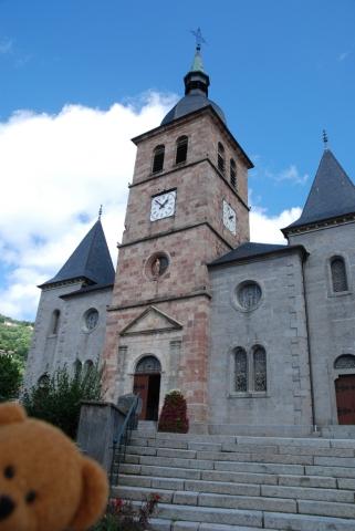 Kirche in La Bresse
